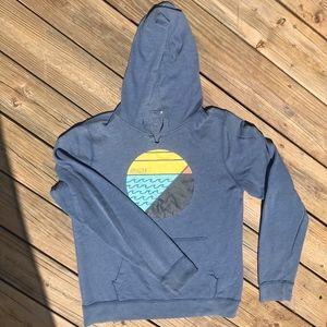 Men's Hollister Blue Beach Hoodie